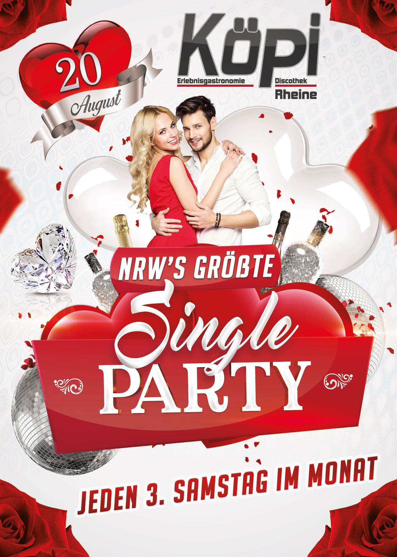 Single party wuppertal
