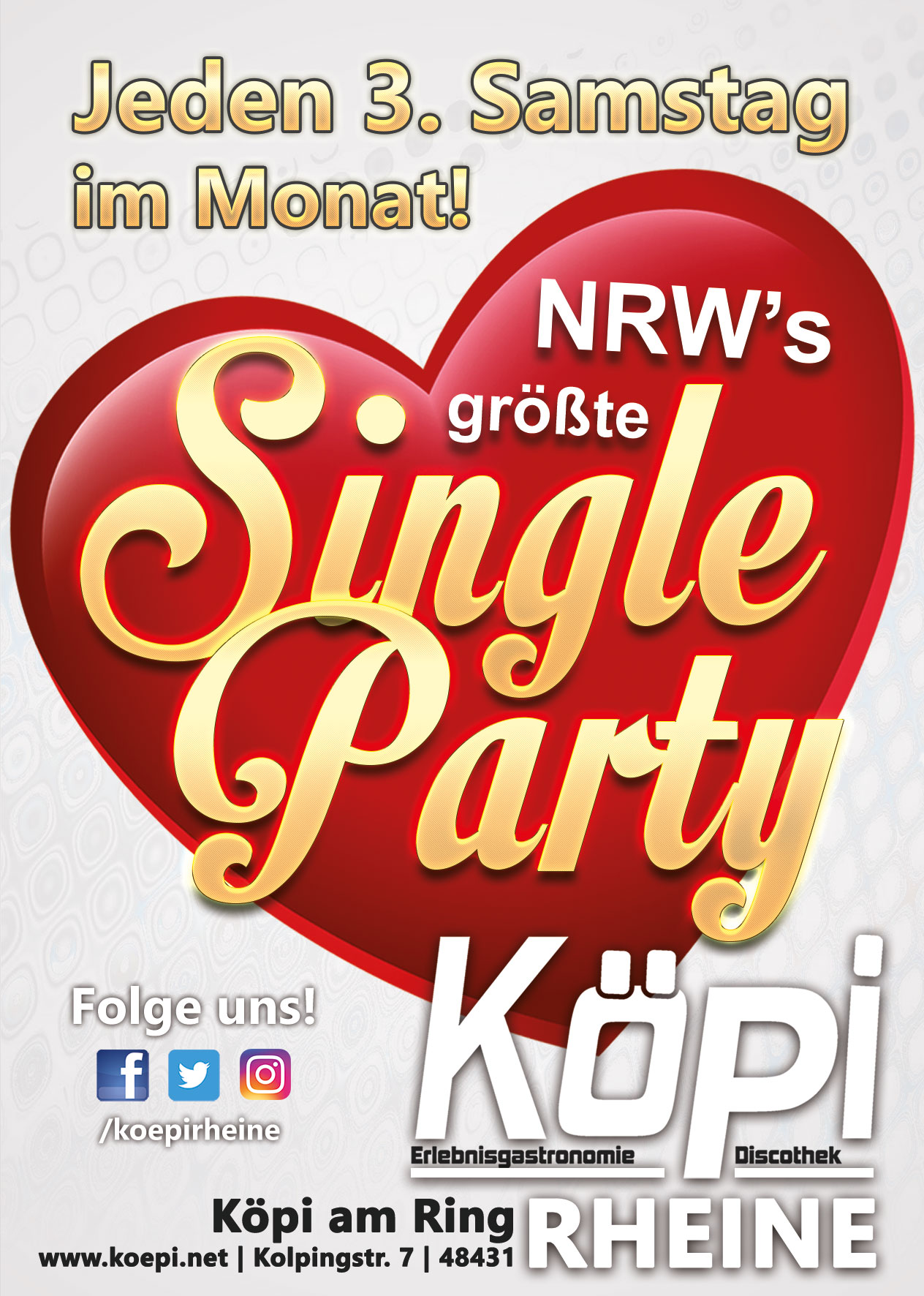 Single party nrw 2013